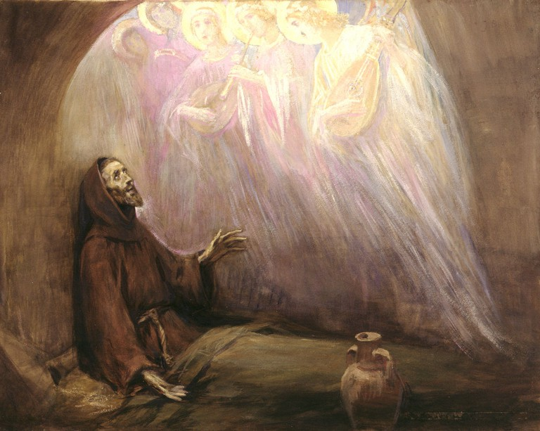 Life of Francis of Assisi by José Benlliure y Gil @ Wikipedia Commons