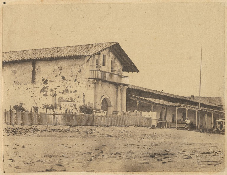 Mission Dolores, 1856/SMU Central University Libraries @ Wikipedia Commons