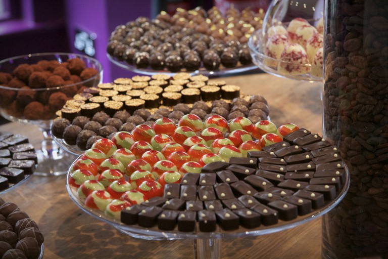 Truffles at Paul A Young | Courtesy of Paul A Young