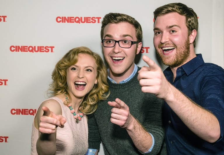 Attendees from Cinequest film festival 2015 enjoy the red carpet | Courtesy of Cinequest