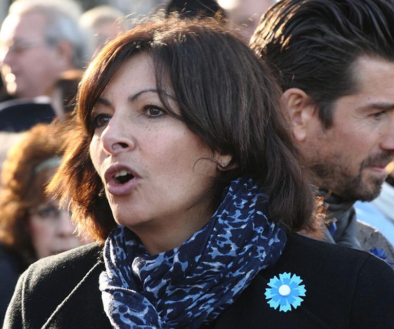 Anne Hidalgo © Remi Jouan l WikiCommons