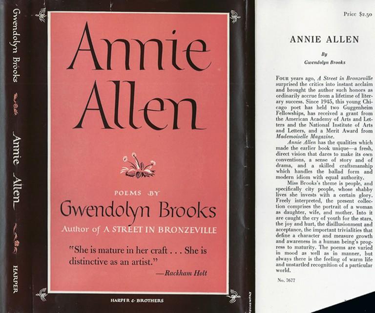 Annie Allen Book Cover   © Harper & Brothers