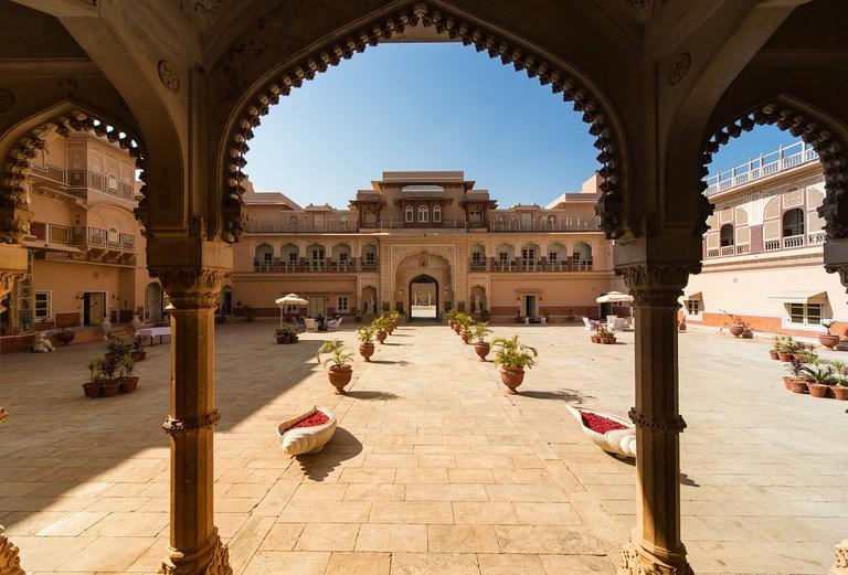Chomu Palace in Jaipur / Pixabay