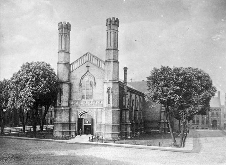 Church of the Holy Trinity, 1909 | Public Domain / WikiCommons