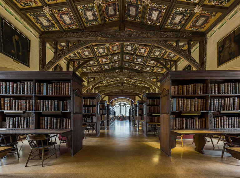 Duke Humfrey's Library Interior, Bodleian Library, Oxford | © Diliff / WikiCommons