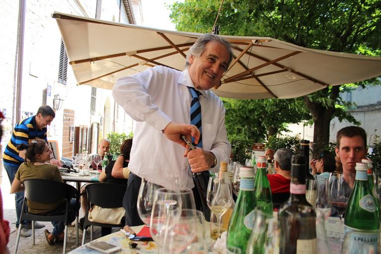 Roberto at Enoteca Properzio | Courtesy of Gina Fabbero