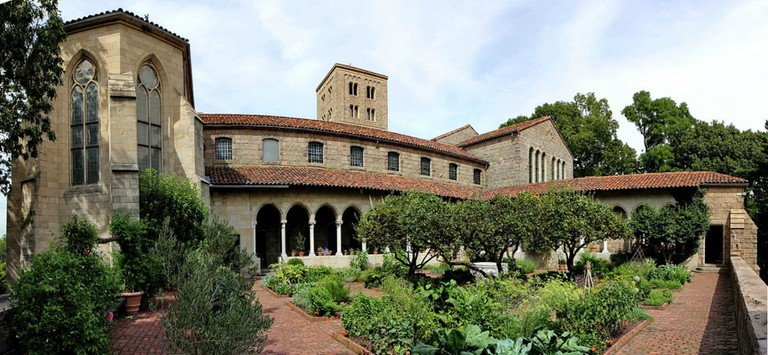 Fort Tyron Park and the Cloisters  © Jose olivares/wikicommons