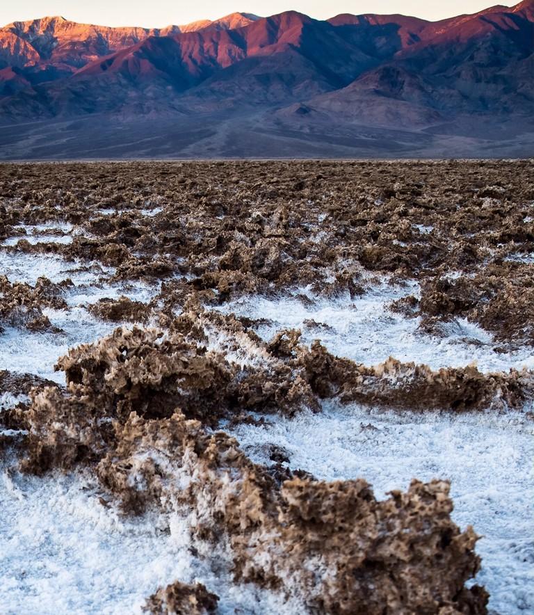 Dirt And Salt Crystal Spires At Devil's Golf Course, ©Gigi Chung