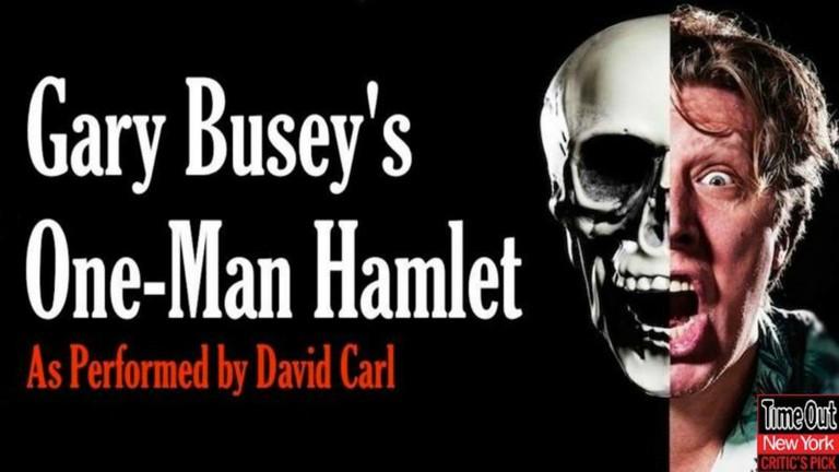 Gary Busey One Man Hamelt| © Jeanette Sears