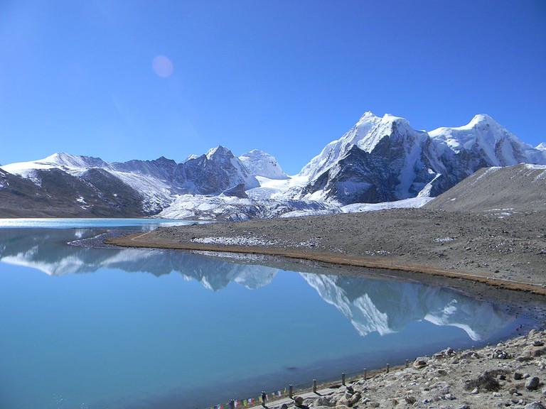 Gurudongmar Lake | Source: Wikimedia Commons