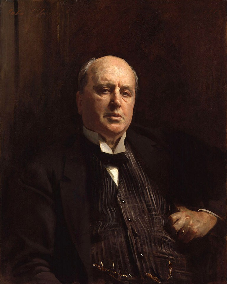 Henry James, by John Singer Sargent (died 1925). See source website for additional information.| © John Singer Sargent/wikicommons