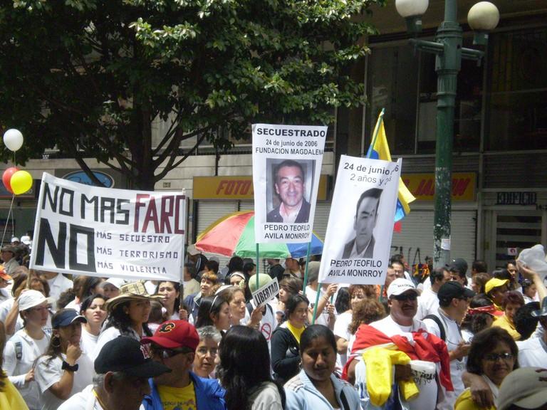 July 20th demonstration   © Paola Vargas/Flickr