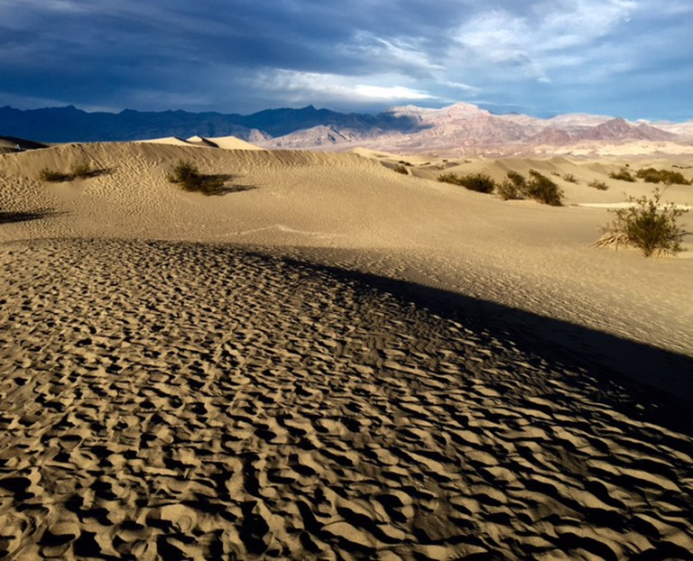 Mesquite Flat Sand Dunes At Sunset, ©Gigi Chung