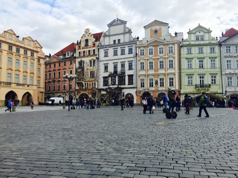 Prague Square Courtesy of Molly Winik