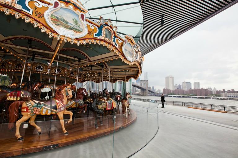 Jane's Carousel  © Julian Mackler