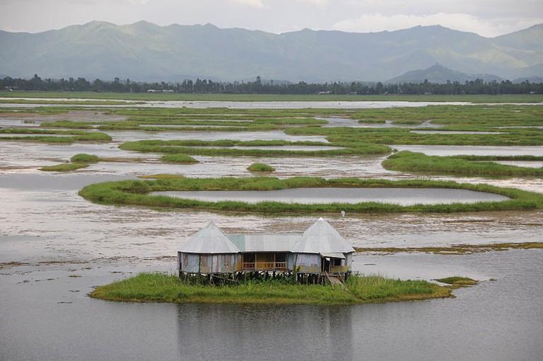 Loktak Lake, Manipur | Photo by Sharada Prasad | Source: Wikimedia Commons