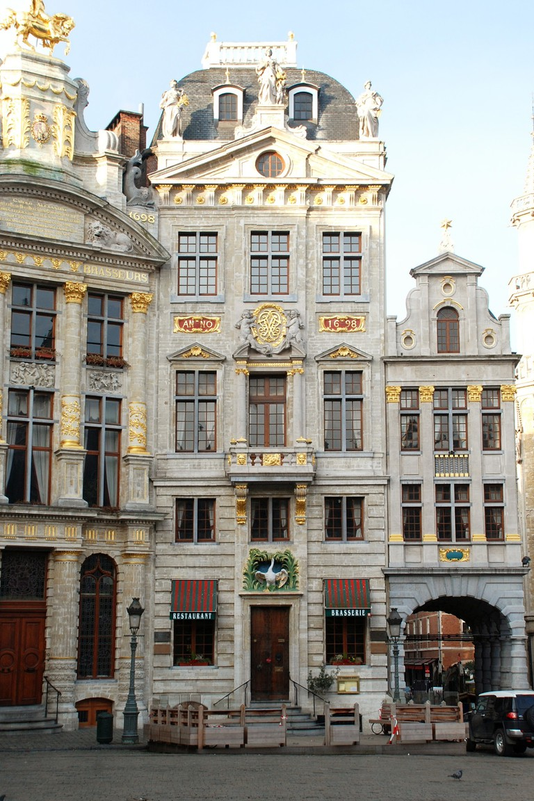 Grand-Place - Maison du Cygne| © WikiCommons