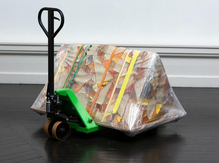 Maiken Bent's Exhibition Arrives Image Courtesy of KW Institute