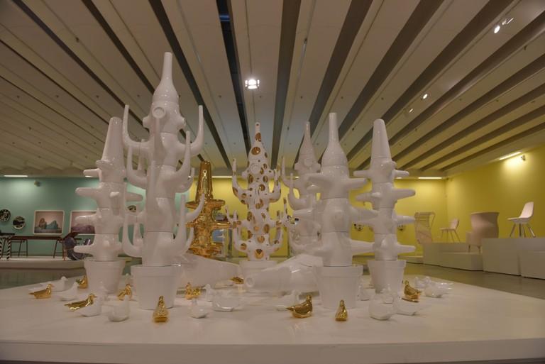 Mediterranean Digital Baroque, Jaime Hayon, Funtastico Exhibition, The Design Museum Holon, Holon, November 30, 2015 - April 30, 2016 | © Ben Kelmer
