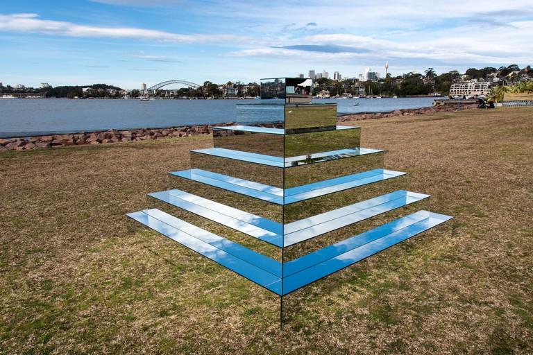 Mirrored Ziggurat / Courtesy of Shirin Abedinirad