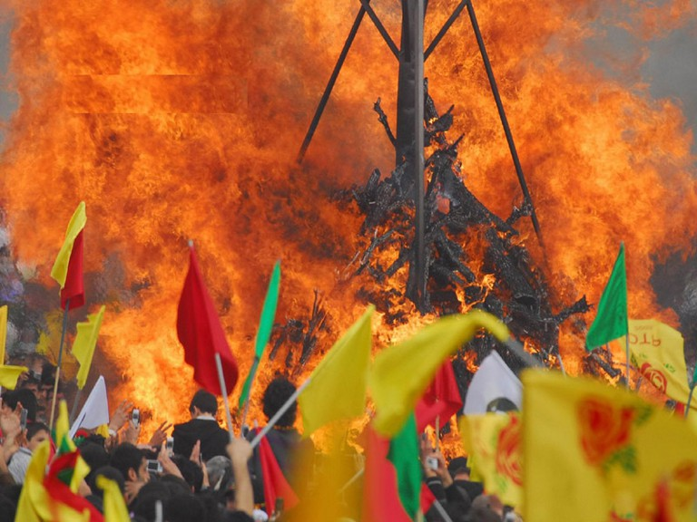 Newroz celebration in Kurdistan