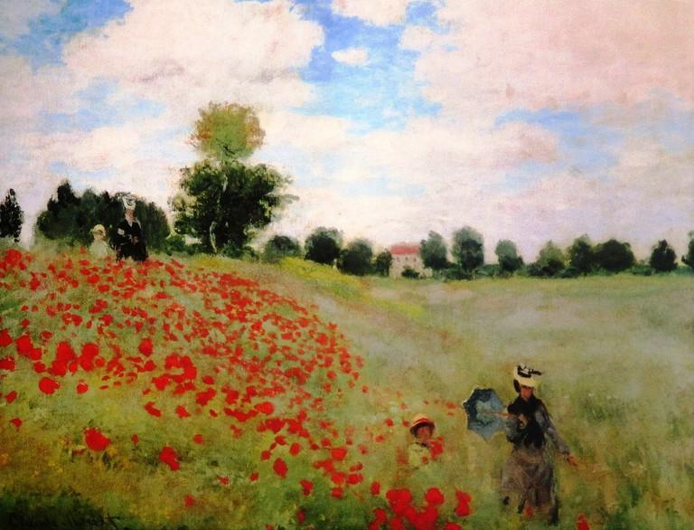 Poppy Field by Claude Monet   © Pixabay