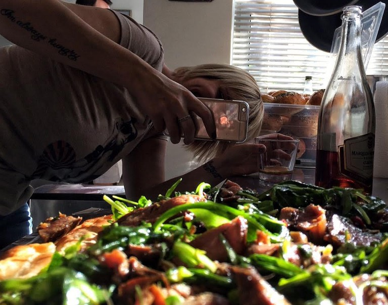 Behind the Scenes of Food Photography