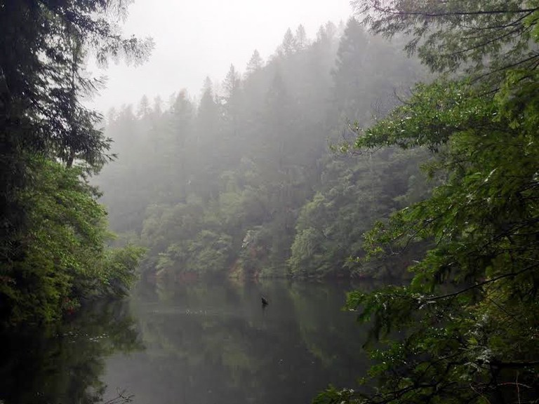 alpine lake cataract falls