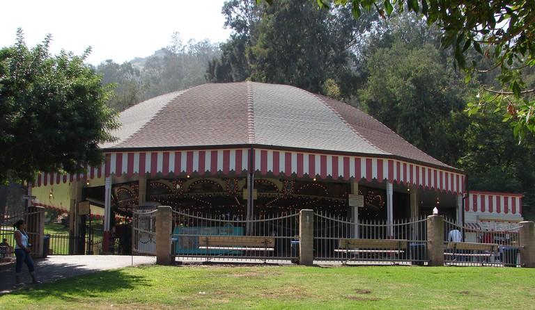 Griffith Park Merry-Go-Round © Gareth Simpson/Flickr