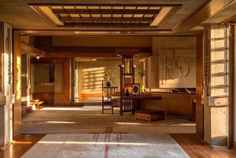 Hollyhock House interior © Joshua White