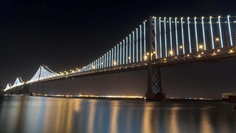 The Bay Bridge at Night © Bryce Edwards/Flickr