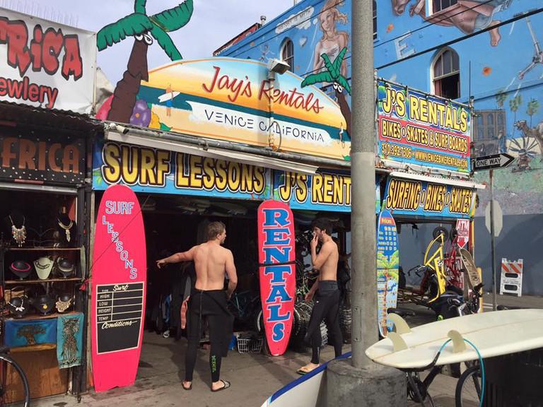 Jay's Rentals | Courtesy of Jay's Rentals Venice Beach