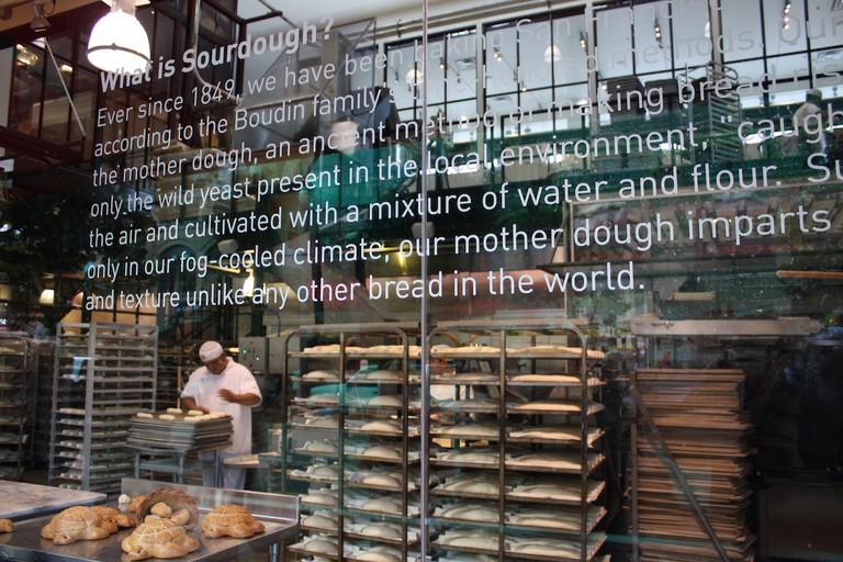 Boudin Sourdough Bakery © Nick Ares/Flickr