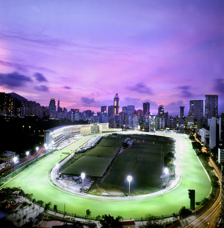 Happy Valley Racecourse in the 21st century | © Courtesy of HKJC