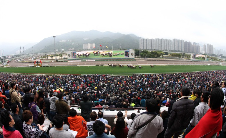 Full house on Chinese New Year raceday | Courtesy of HKJC