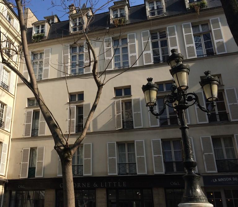One corner of Place de Furstenberg © Hattie Ditton
