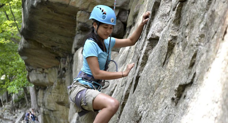 Rock Climbing | Image Courtesy of Discover Outdoors