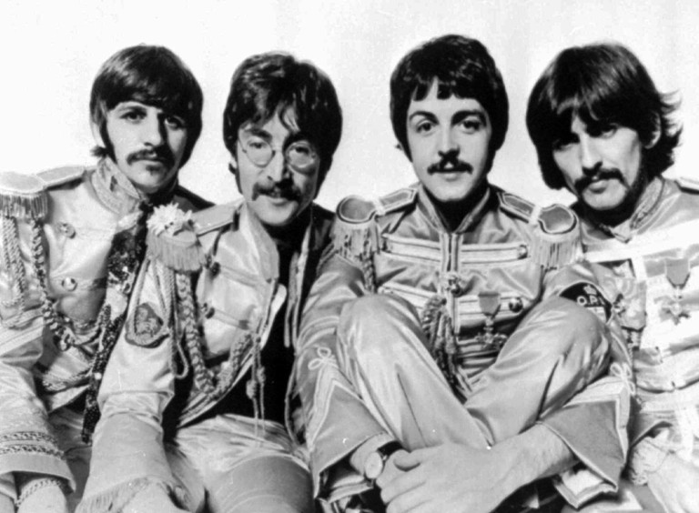 The rock group, The Beatles, is shown in 1967. From left, are: Ringo Starr, John Lennon, Paul McCartney; and George Harrison.(AP Photo/ho)