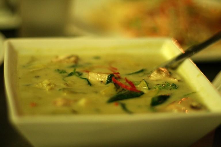 Thai green curry | © Ramakrishna Reddy Y/Flickr