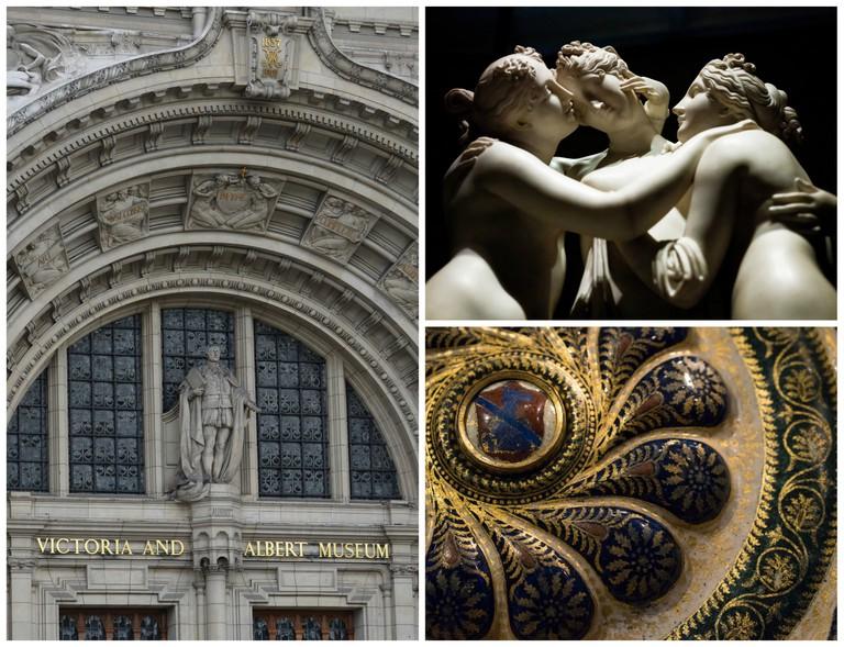 Victoria and Albert Museum | © Aaron Bradley/Flickr | © Alessandro Grussu/Flickr | © Paul Hudson/Flickr