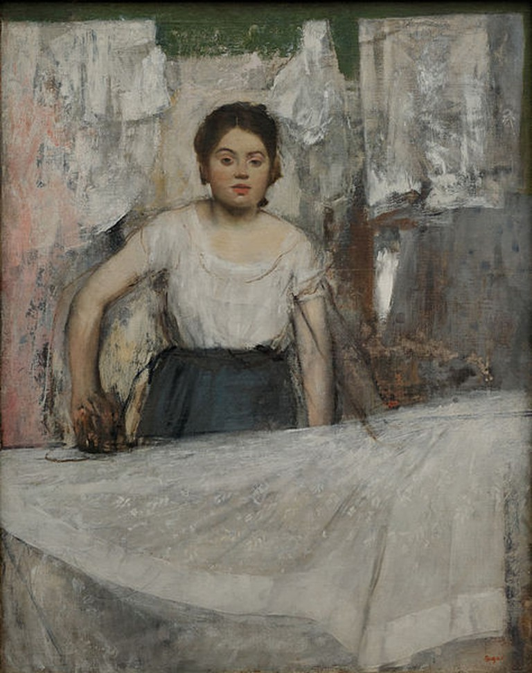 Woman Ironing © Edgar Degas / WikiCommons