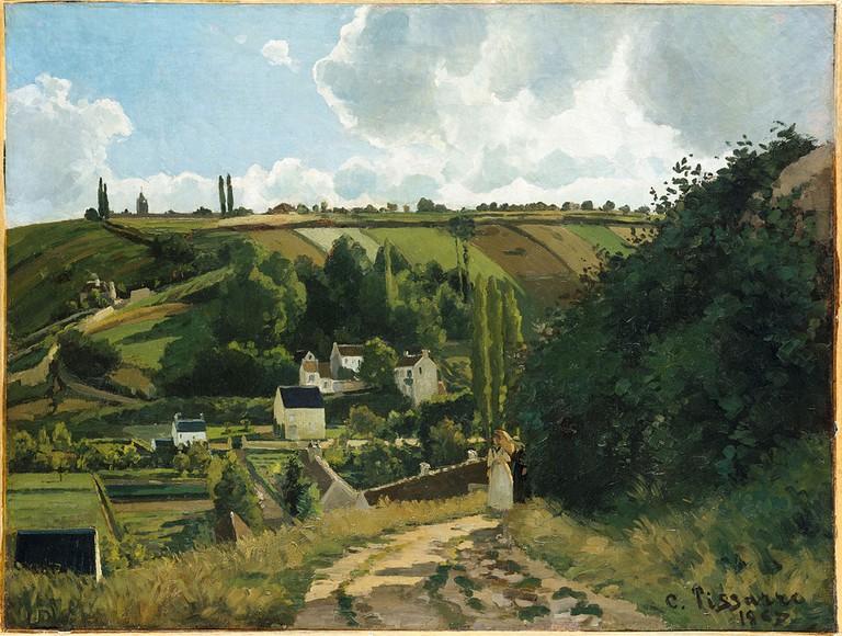 Camille Pissarro, Jalais Hill, Pontoise, 1867 | © Metropolitan Museum of Art/WikiCommons