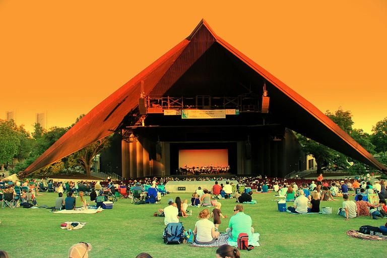 Miller Outdoor Theater   © Deepak Bawa/Flickr
