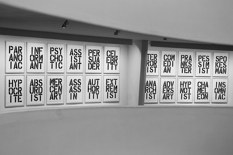 Christopher Wool at The Solomon R. Guggenheim Museum| © Jules Antonio/Flickr