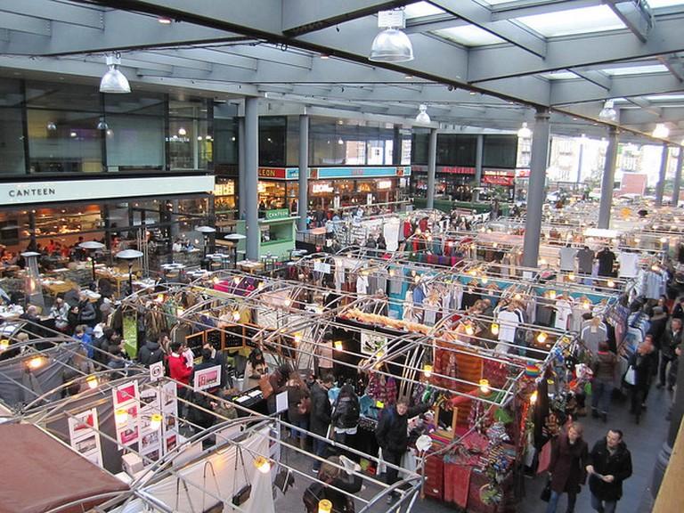A view of the Old Spitalfields Market in Shoreditch |La Citta Vita/Flickr