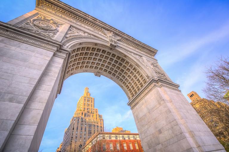 HDR - Washington Square Park Arch   © m01229/Flickr