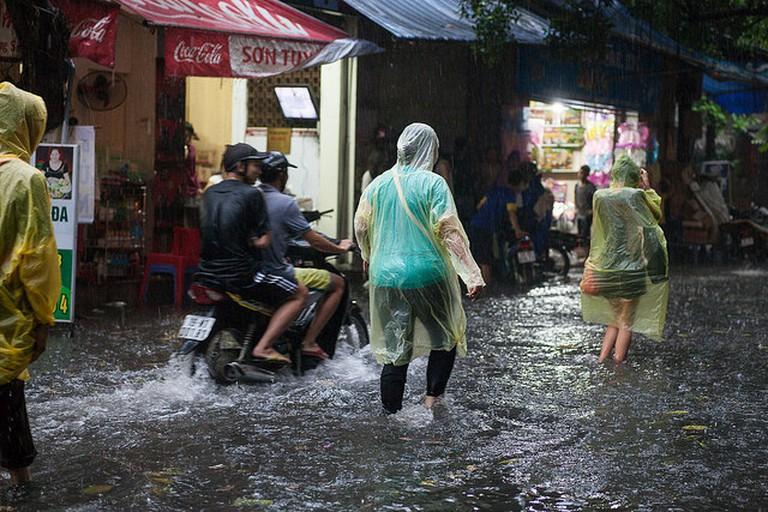 Monsoon downpour in Hanoi   © Greg Willis/Flickr