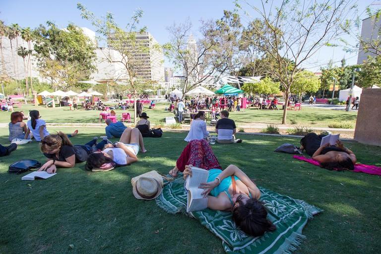 Grand Park Downtown Book Fest Courtesy of Javier Guillen for Grand Park