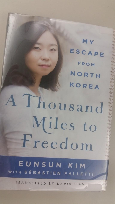 A Thousand Miles to Freedom cover art | © St. Martin's Press, Courtesy H.C.Hamblin
