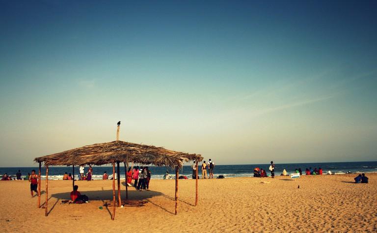 Paradise beach Pondicherry© Flickr/Sen